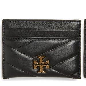 Tory Burch Chevron leather wallet